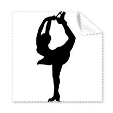 233x233 Winter Sport Female Dancing Girl Figure Skating Silhouette Glasses