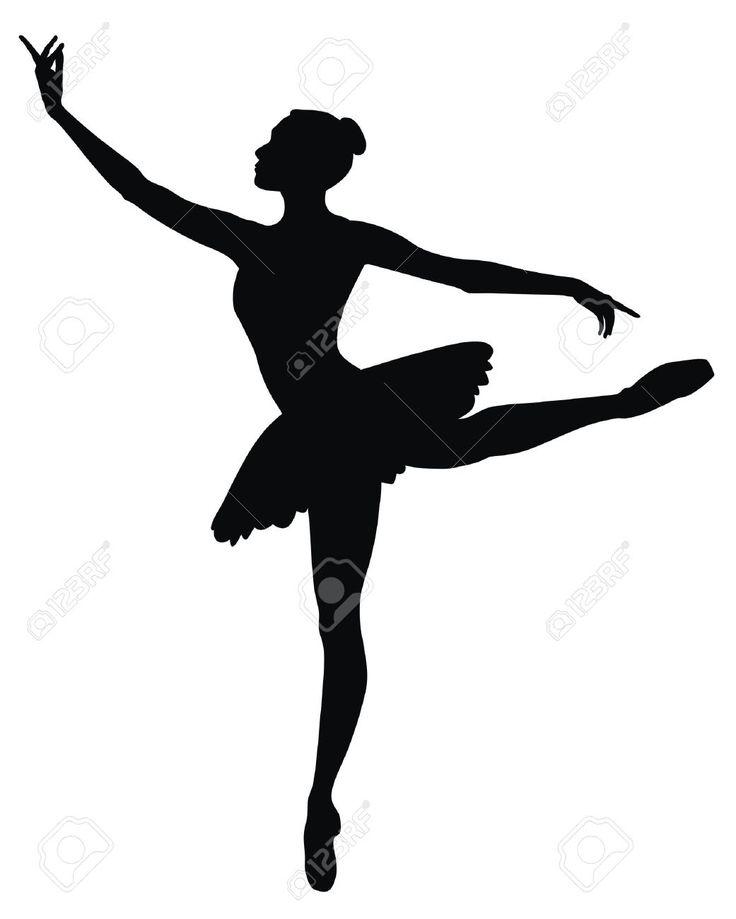 736x919 Ballerine Clipart Female Dancer