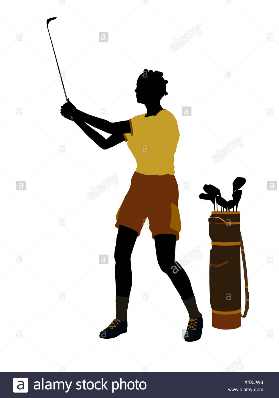 975x1390 Golf Silhouette Stock Photos Amp Golf Silhouette Stock Images