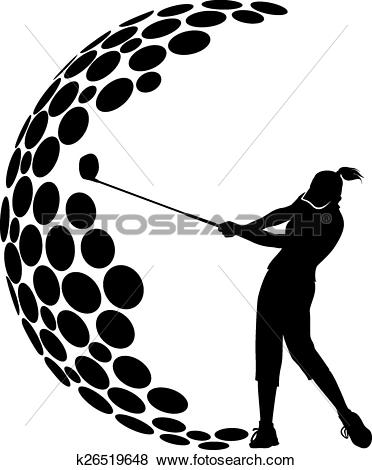 372x470 Lady Golfer Clip Art Many Interesting Cliparts
