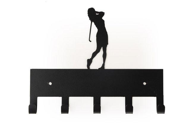 660x416 Golfer (Female) Metal Display Hook Sporthooks