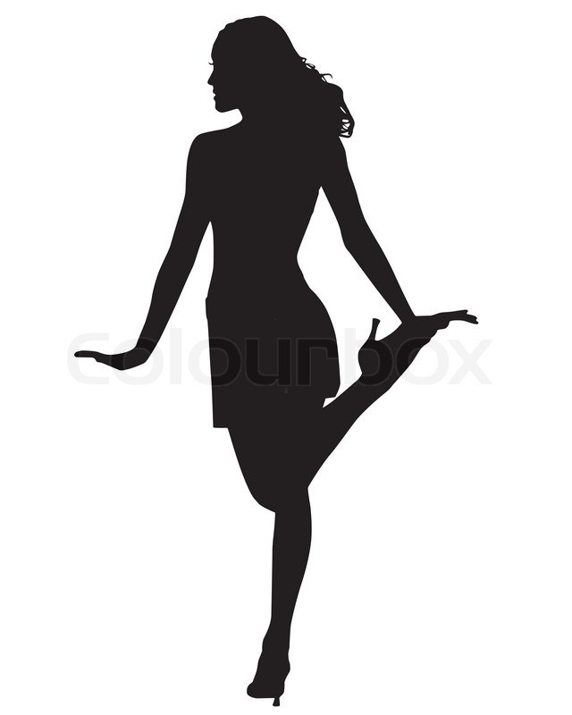 640x800 Silhouette Of A Woman Dancing Mydrlynx