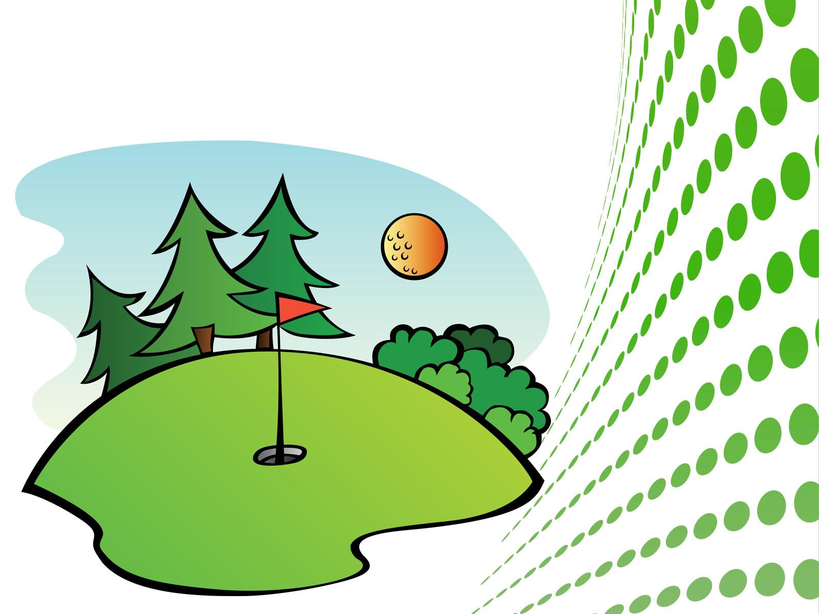 1600x1200 Clip Art Clip Art Of Golf