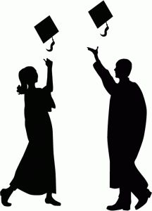 216x300 Graduates Silhouettes Photoshop, Silhouettes And College