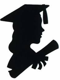 195x258 Grad Silhouette Image Girl Graduate Silhouette Ken And Barbie