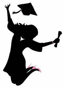 218x300 Free Cut File Graduate Silhouettes Svg Brianna Senior Board