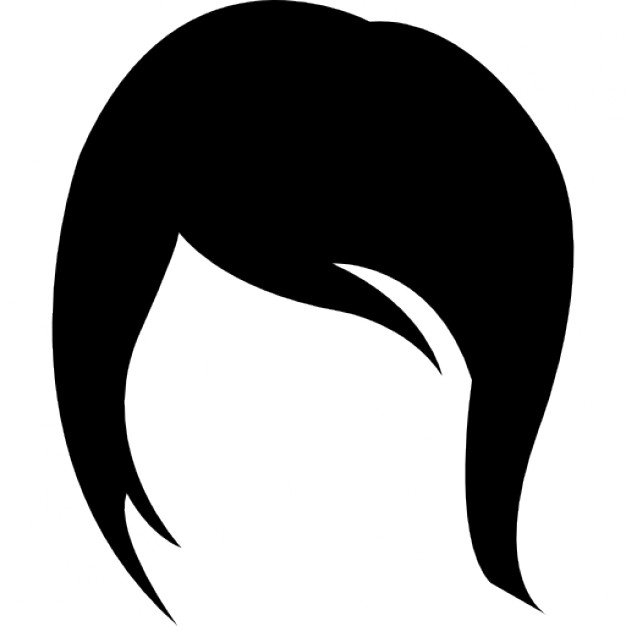 626x626 Female Short Hair Style Variant Icons Free Download