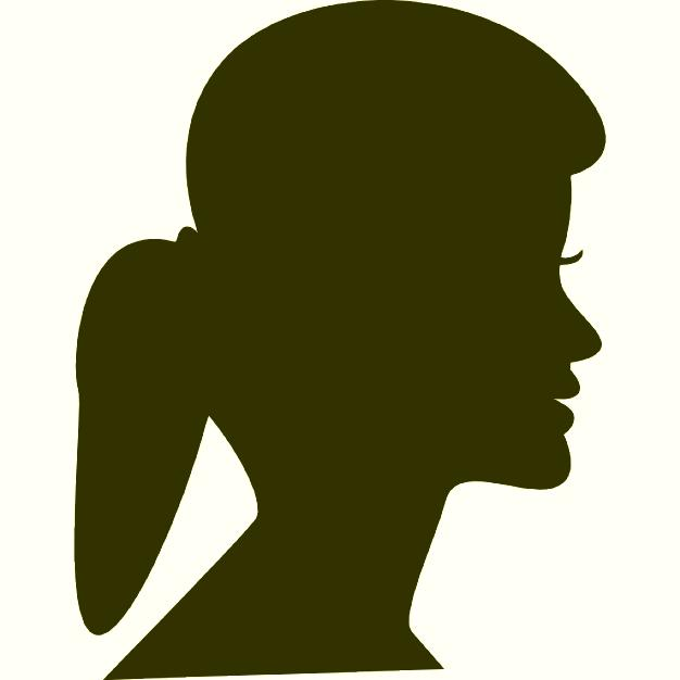 626x626 Ponytail Silhouette Mystyle Trends