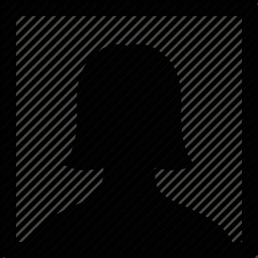 512x512 Female, Headshot, Photo, Picture, Portrait, Selfie, Woman Icon