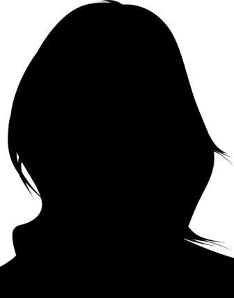 336x428 Female Head Outline 2