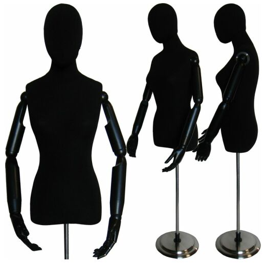 520x515 Female Dress Form, Ladies Dress Form, Female Dress Display