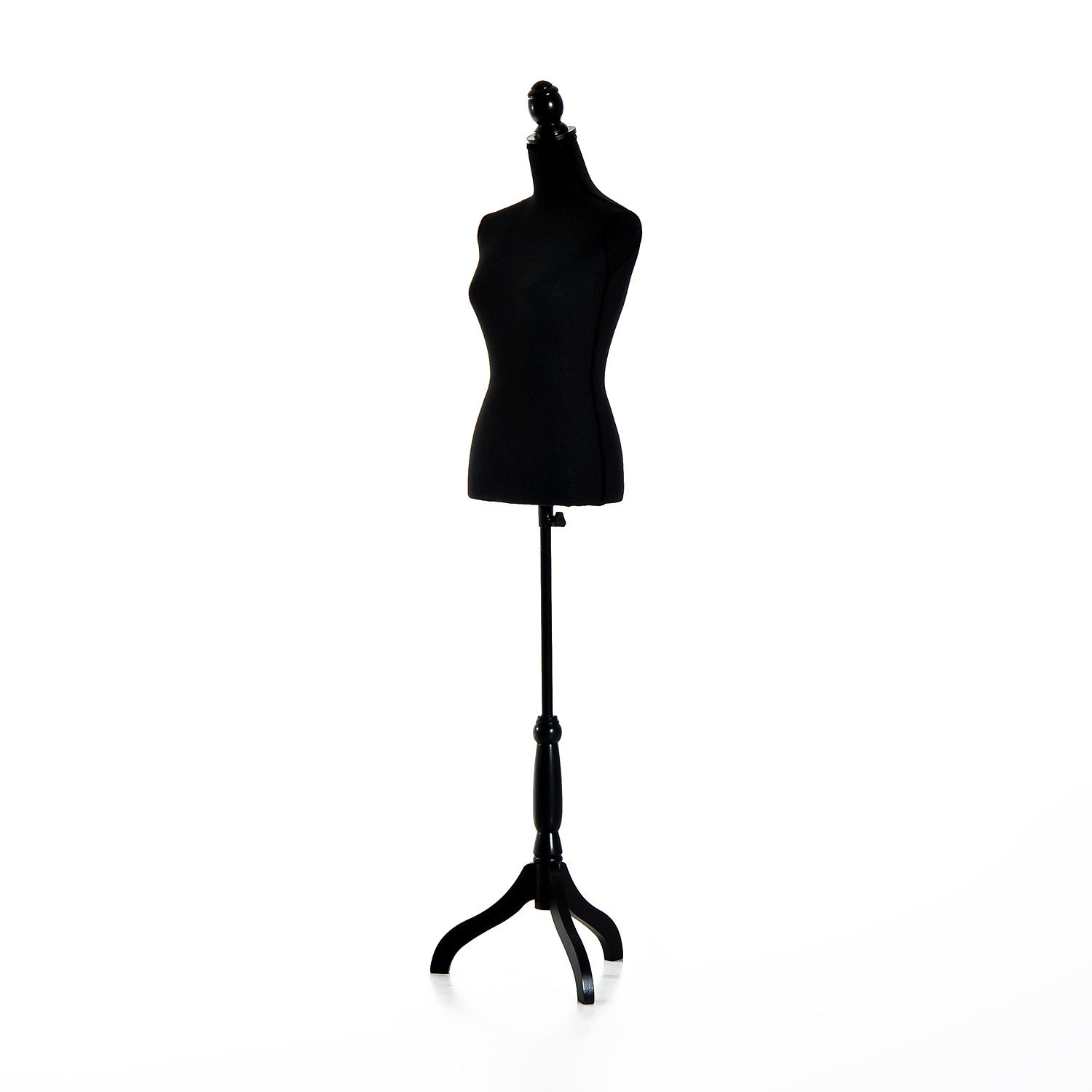 1500x1500 Female Mannequin Adjustable Torso Display Tripod Stand Clothing