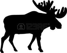 236x186 Moose Silhouette