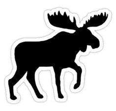 236x226 Mooses Silhouette Vector Silhouettes Silhouettes
