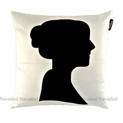 Female Portrait Silhouette