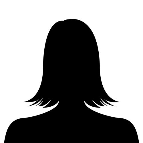500x500 Female Profile Silhouette