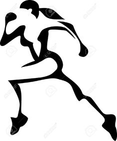 235x282 Running Silhouette Silhouettes, Running And Logos