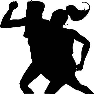 368x367 Silhouette Free Clipart