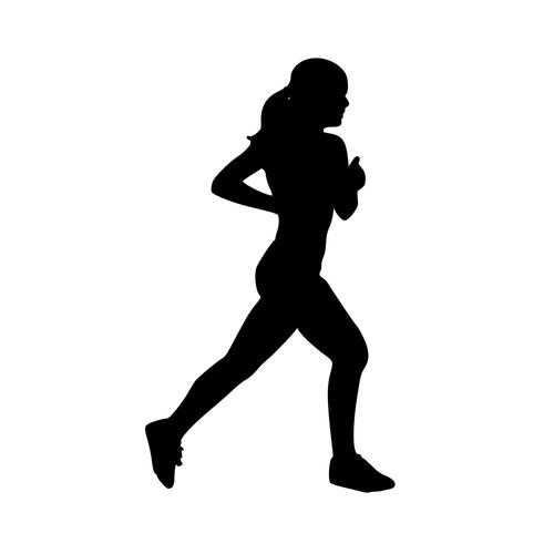 500x500 Track Runner Girl Female Marathon 10k 5k 12 Half