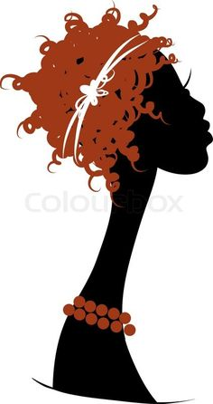 236x446 African Woman Silhouette Clip Art African American Woman