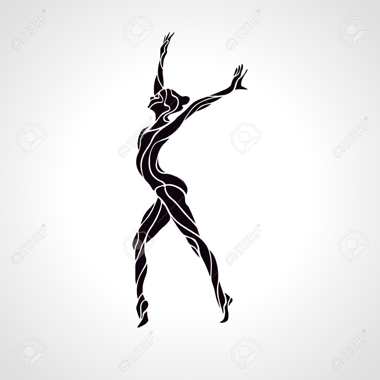 1300x1300 Image Result For Dance And Gymnastics Logo Graphic Design