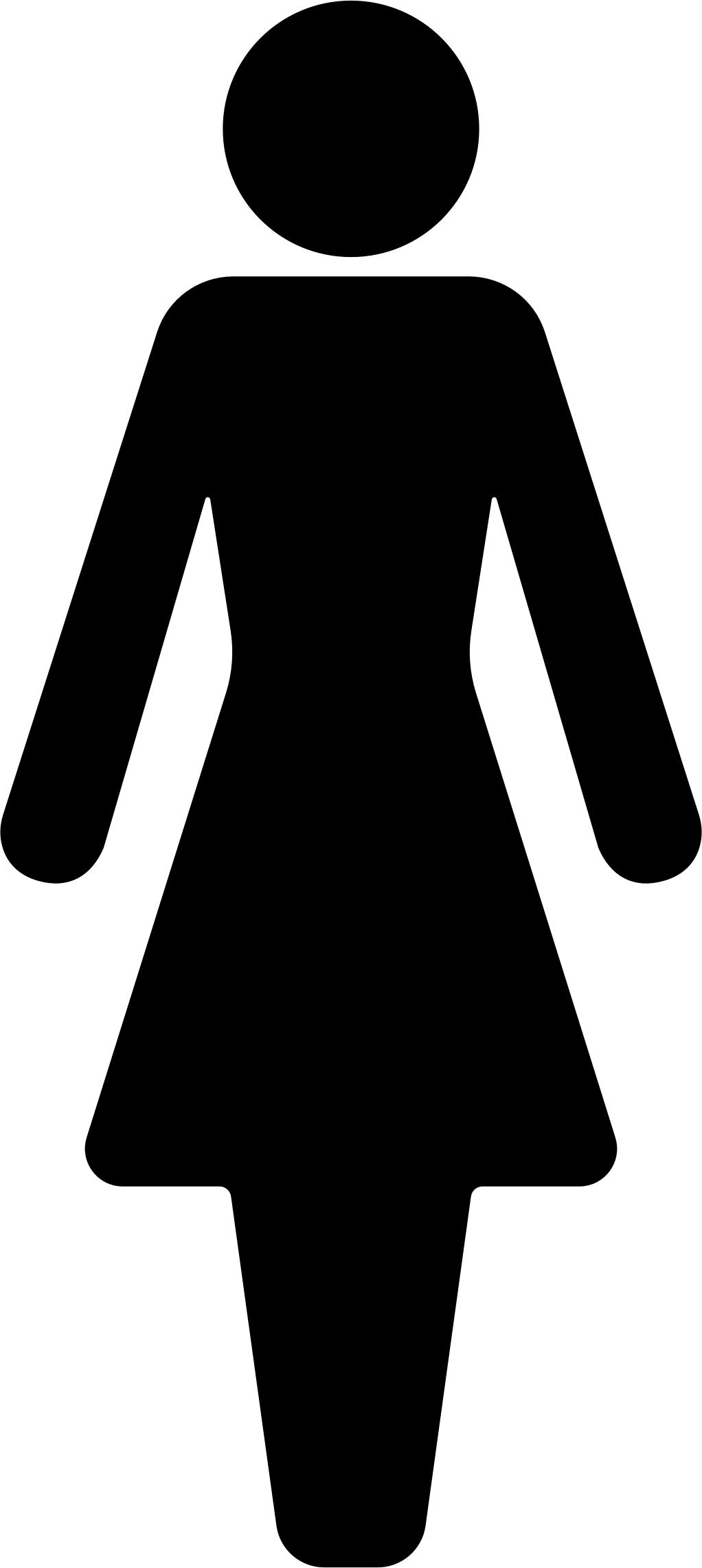 1022x2282 Female Symbol Silhouette Icons Png