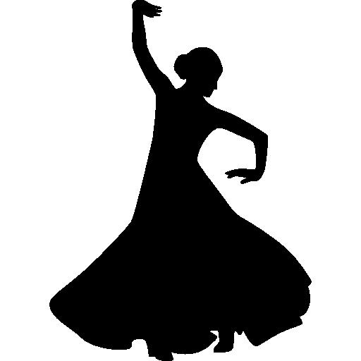 512x512 Silhouette, People, Flamenco, Dancer, Shape, Model, Flamenco Icons