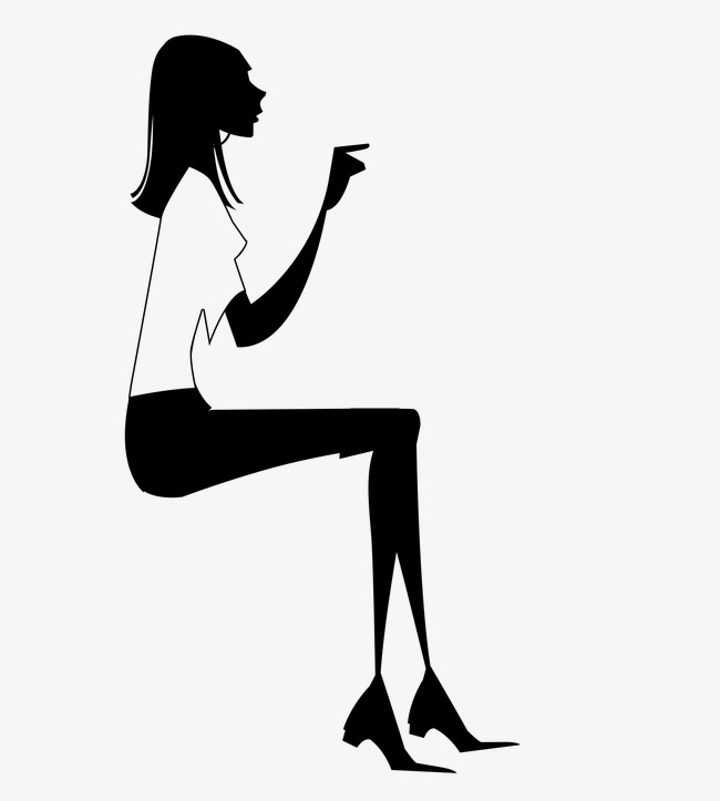 650x723 Female Silhouette, City, Female, Sketch Png Image And Clipart