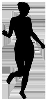 168x348 Female Silhouette