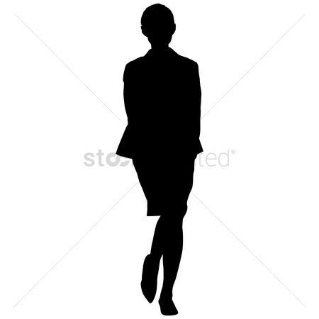 450x450 Free Female Silhouette Stock Vectors Stockunlimited