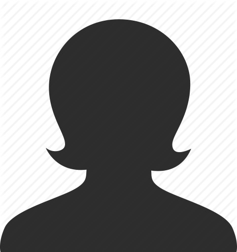 481x512 Female Head Icon