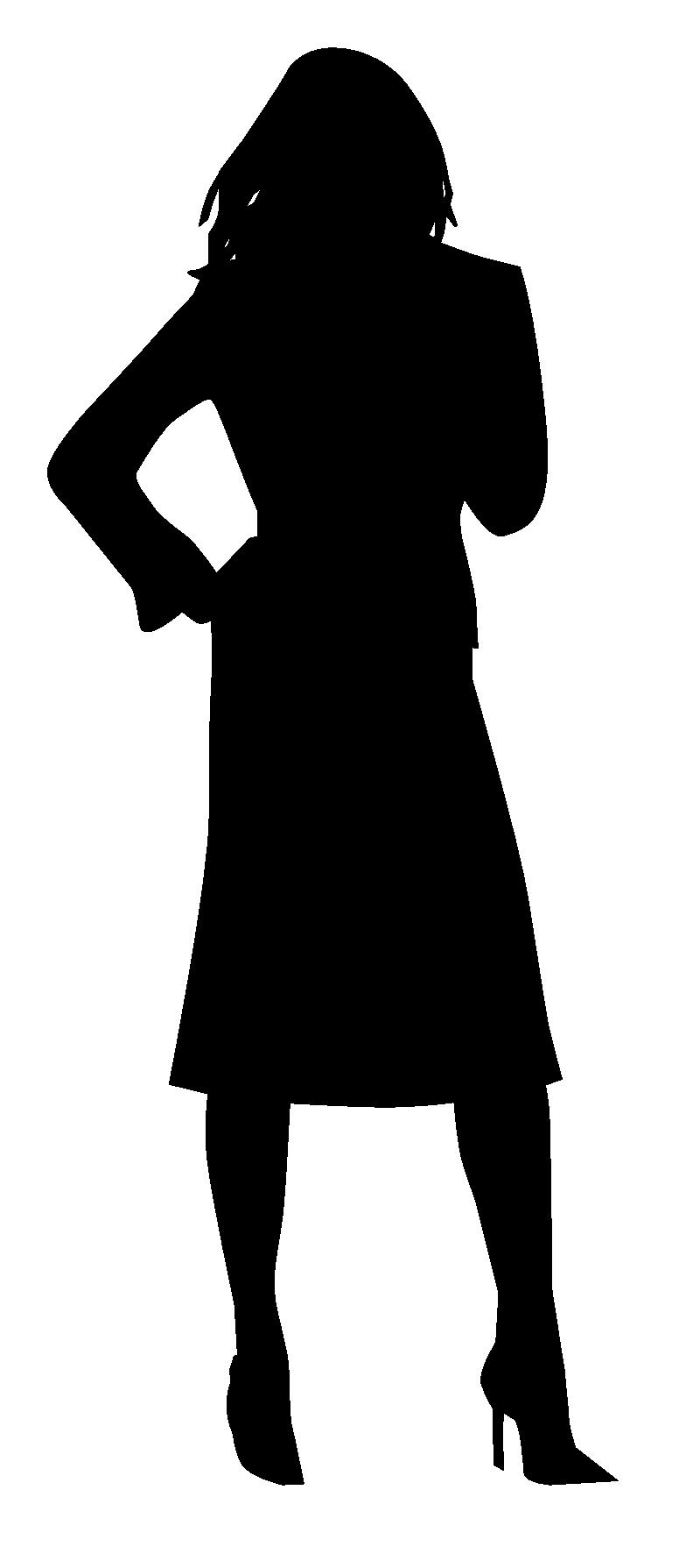 800x1789 Silhouette Woman