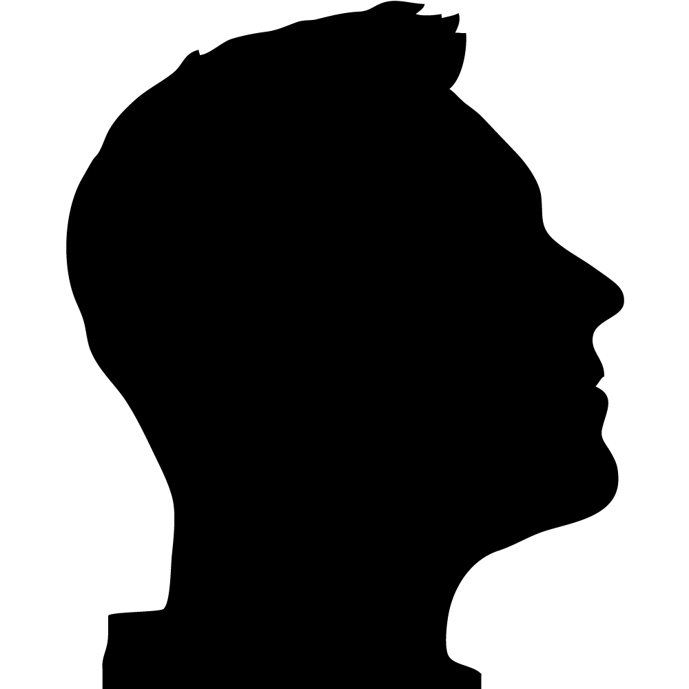 1000x1000 List Of Synonyms And Antonyms Of The Word Profile Silhouette