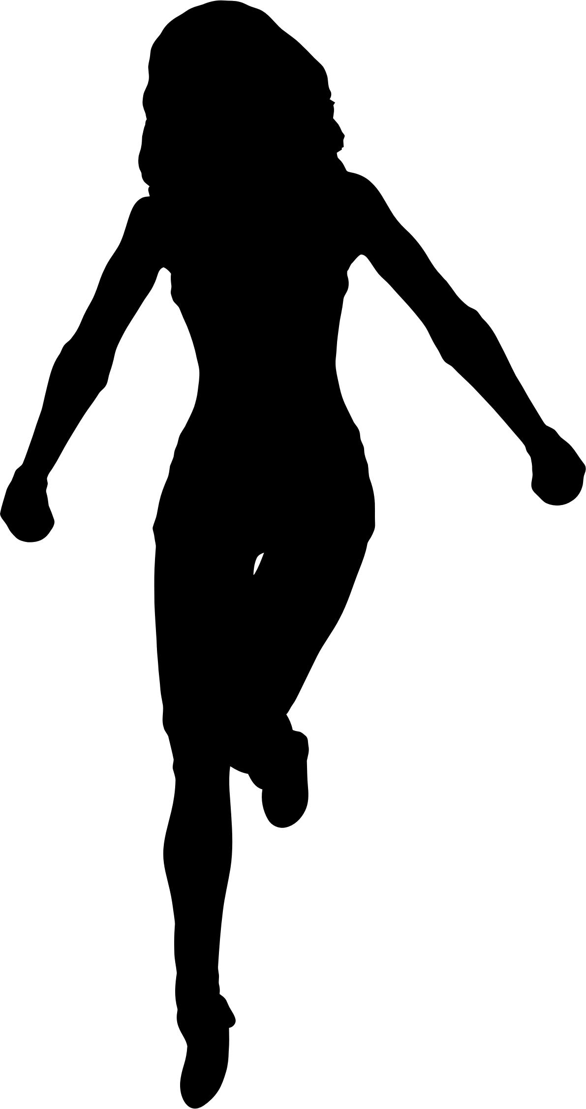 Female Silhouette Standing