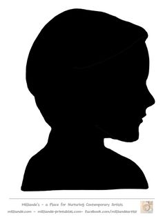 236x314 Free Female Silhouette Template