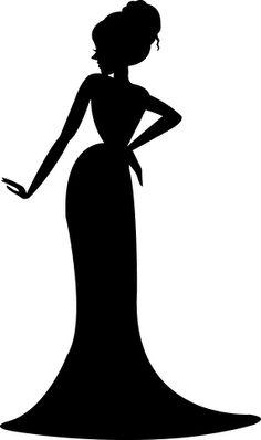 236x398 Female Silhouette Singers