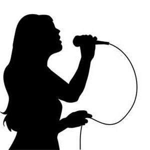 300x300 Vocalist Silhouette