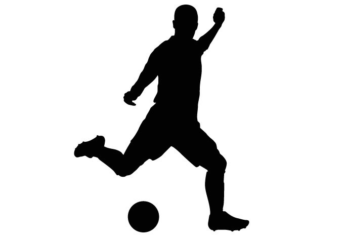 680x472 Soccer Player Clipart