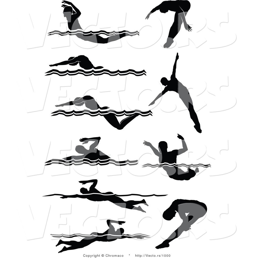 1024x1044 Vector Of 10 Unique Male Swimmers Silhouette By Chromaco 1000.jpg