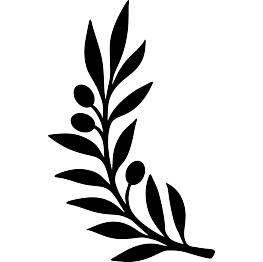 263x262 Olive Branch Silhouette Diy And Crafts Silhouettes