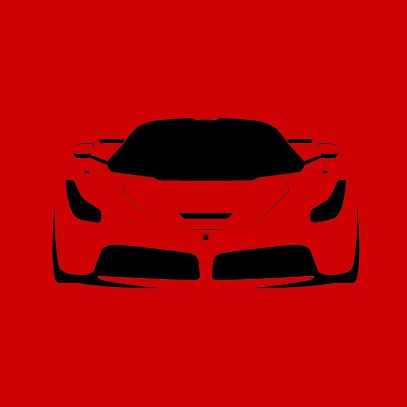 800x800 La Ferrari Silhouette Tote Bags By Cedramichelle Redbubble