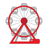 160x160 Ferris Wheel Silhouette Stock Image And Royalty Free Vector Files