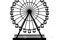 200x135 Hd Vintage Ferris Wheel Vector Image