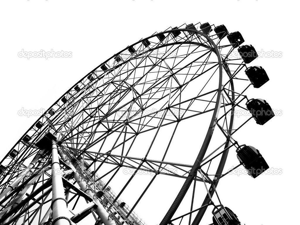 1024x768 Ferris Wheel Clip Art Free Outline Of A Large Ferris Wheel