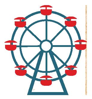 307x329 Ferris Wheel Clipart