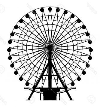 333x357 Ferris Wheel Clipart Ferris Wheel Clipart
