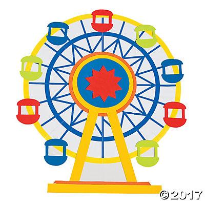 400x400 Ferris Wheel Clipart Giant Wheel