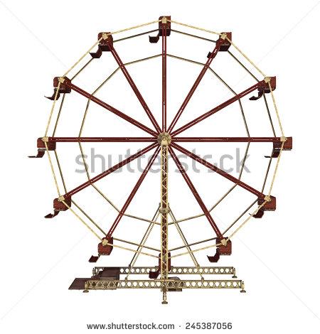 450x470 Ferris Wheel Clipart Background