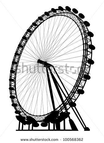 340x470 Carousel Silhouette Vector 19 Coachella Carousel