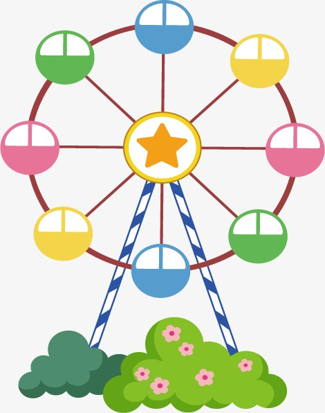 470x596 Cartoon Ferris Wheel Png, Vectors, Psd, And Clipart For Free